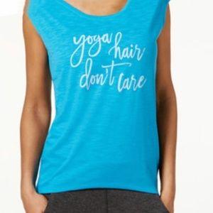 Gaiam yoga hair don't care tank